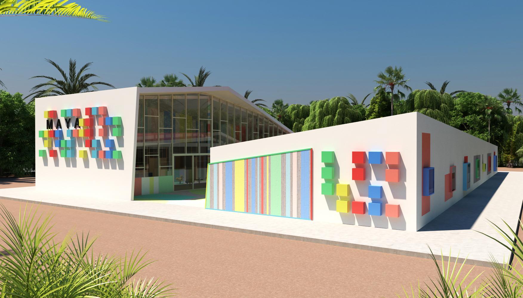 école en Afrique architecte d'intérieur
