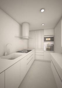 cuisine sur-mesure avec optimisation de l'espace